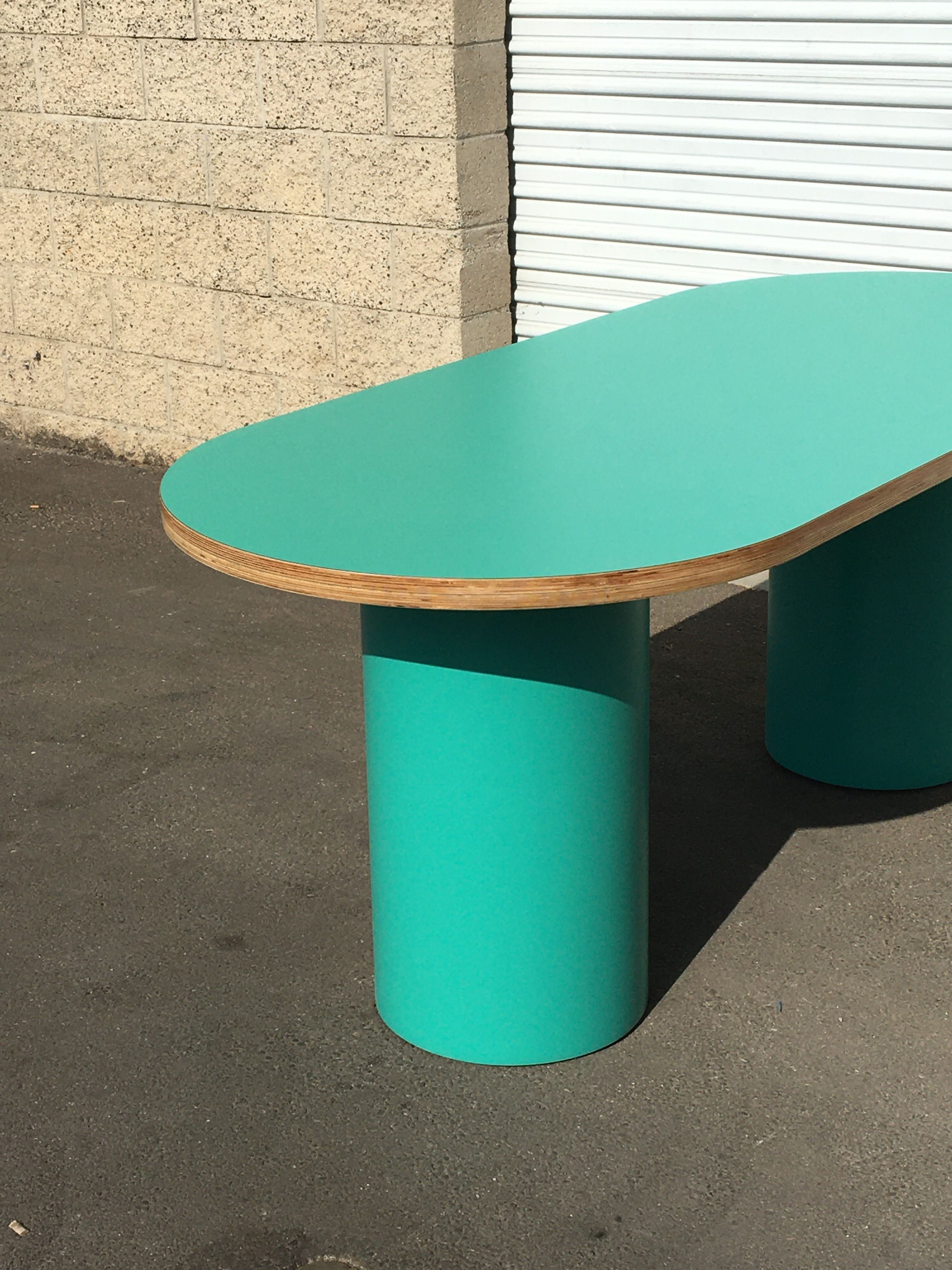Pill-shaped Dining Table product image 4