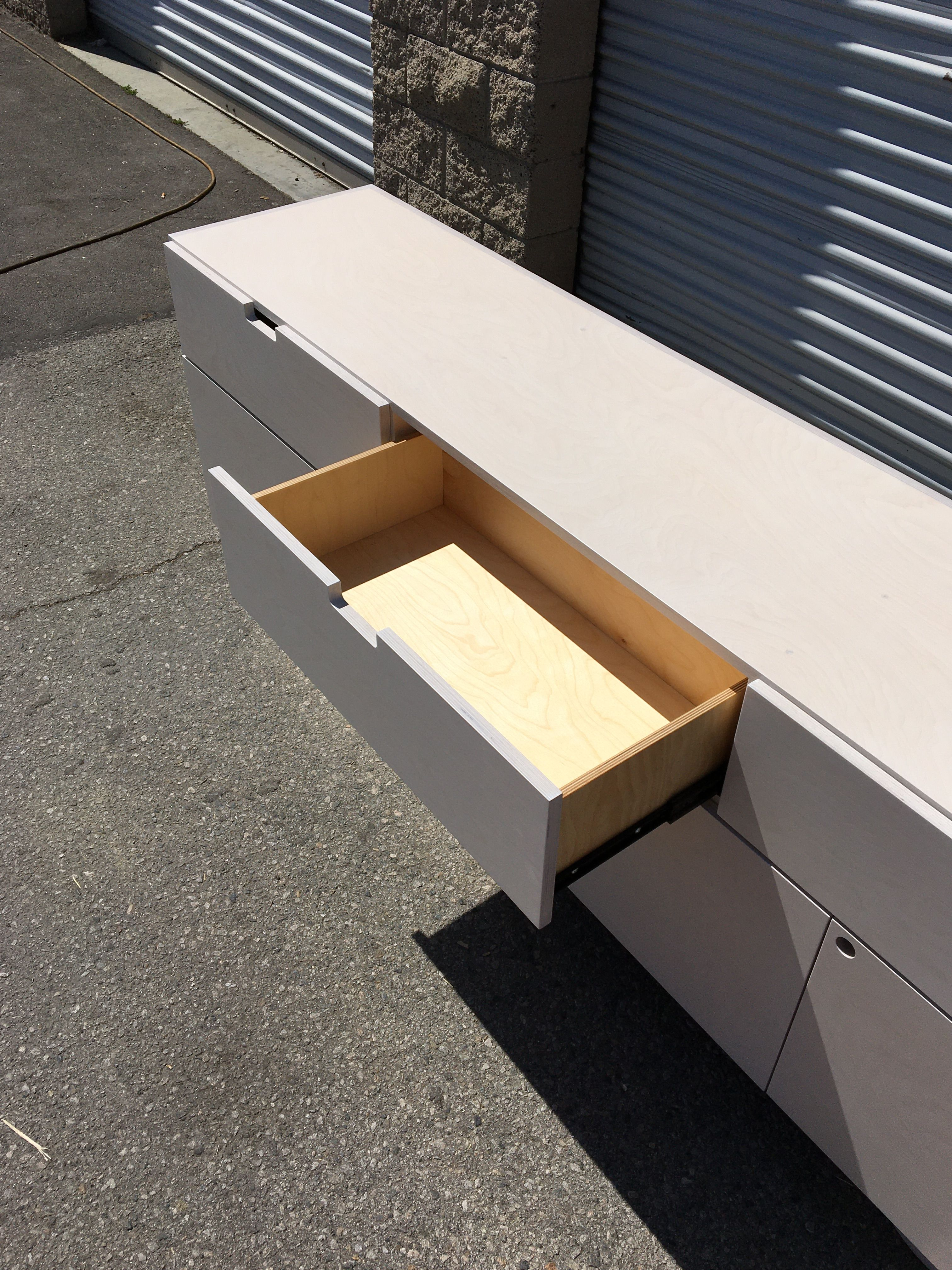 White Stain Credenza product image 6