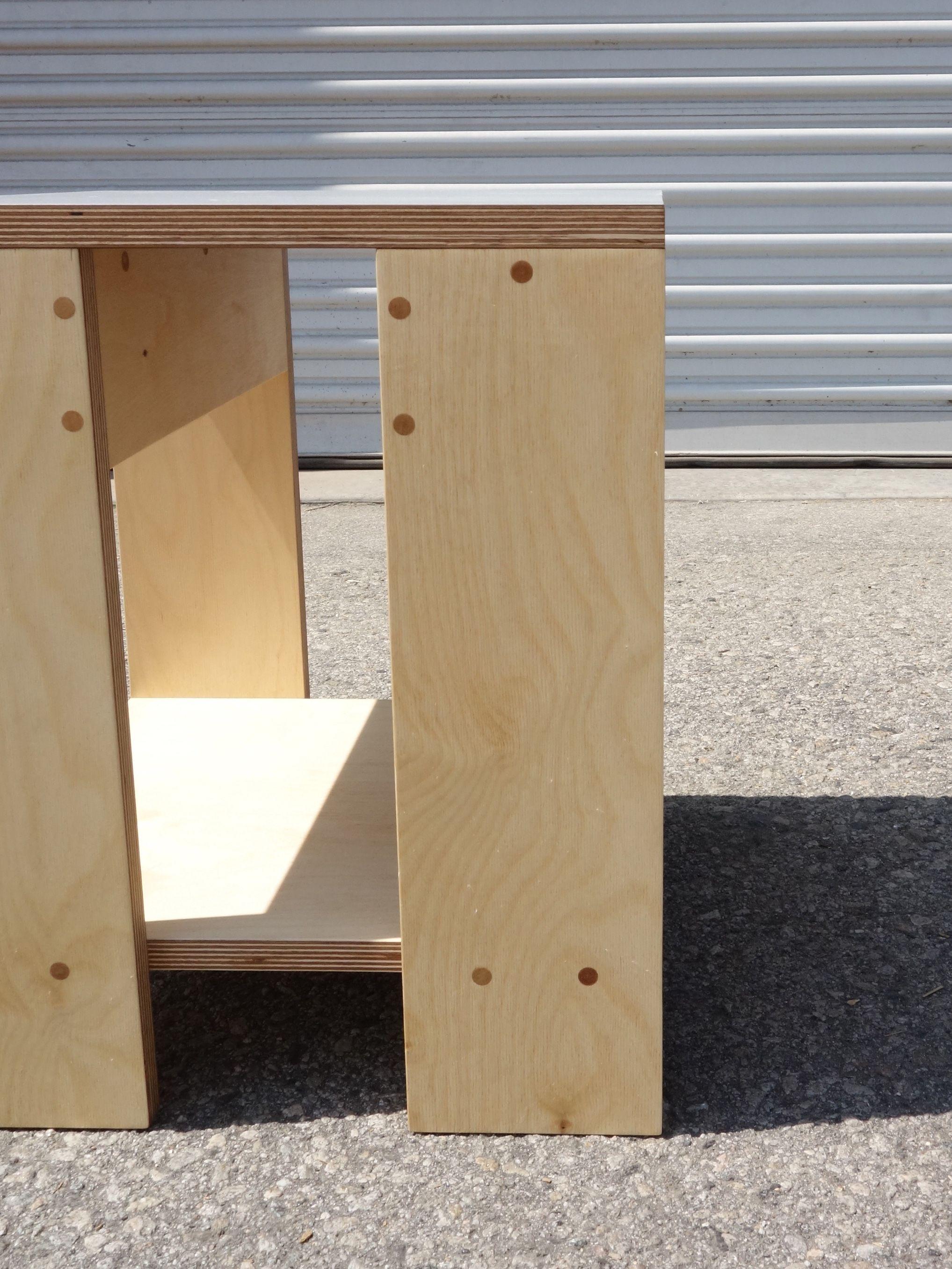 Square Shelf Stool product image 3