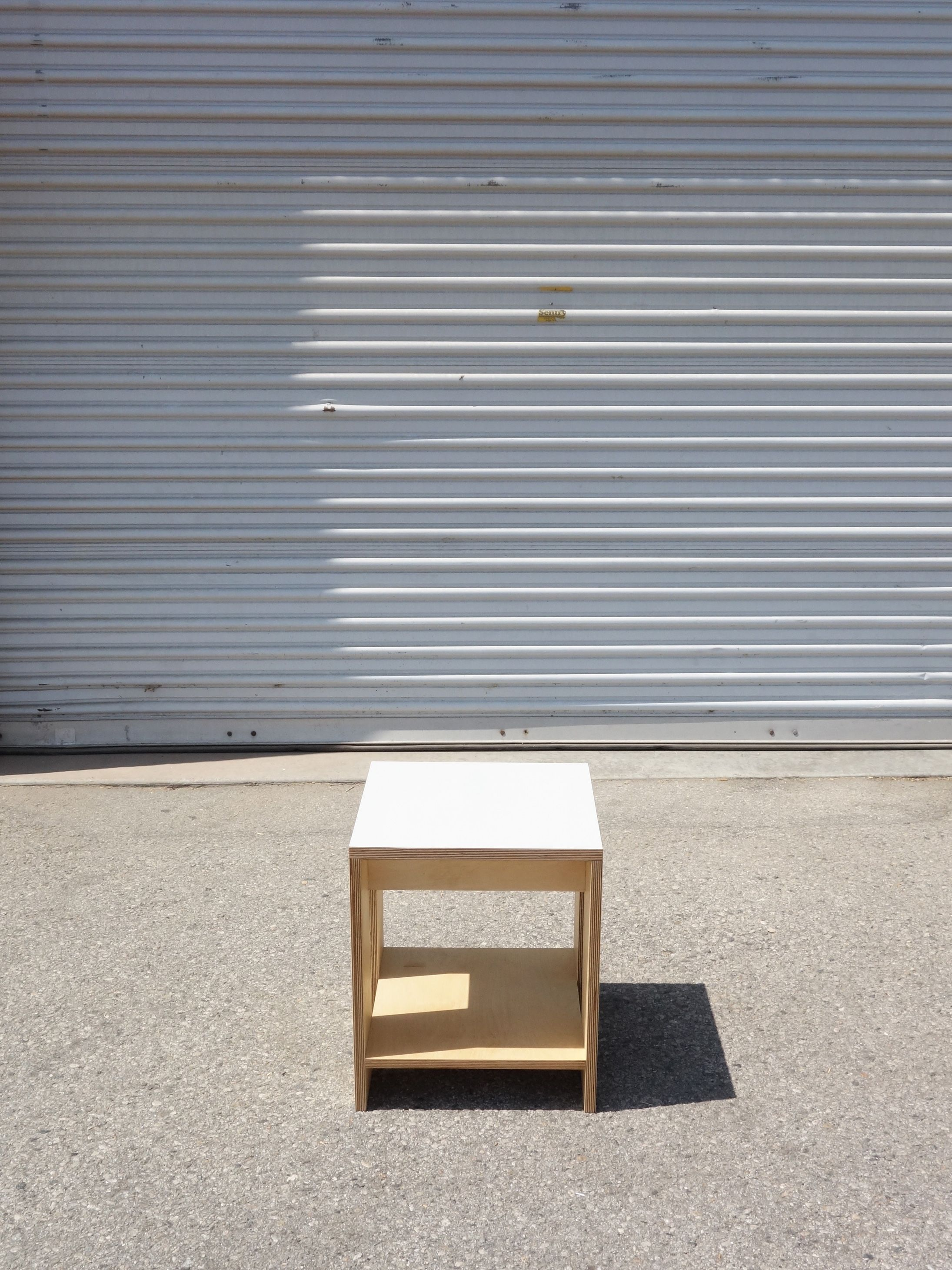 Square Shelf Stool product image 1