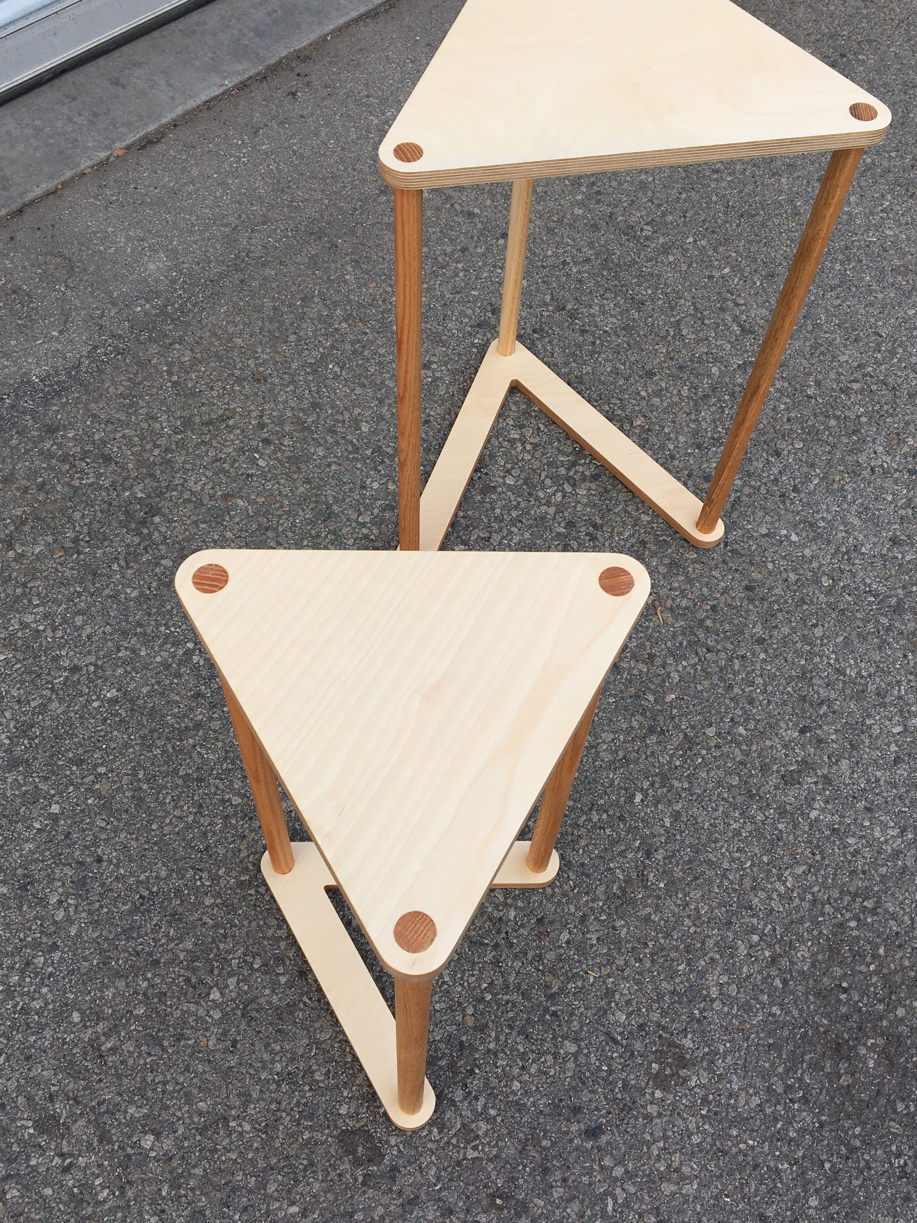 Triangle Nesting Tables product image 6