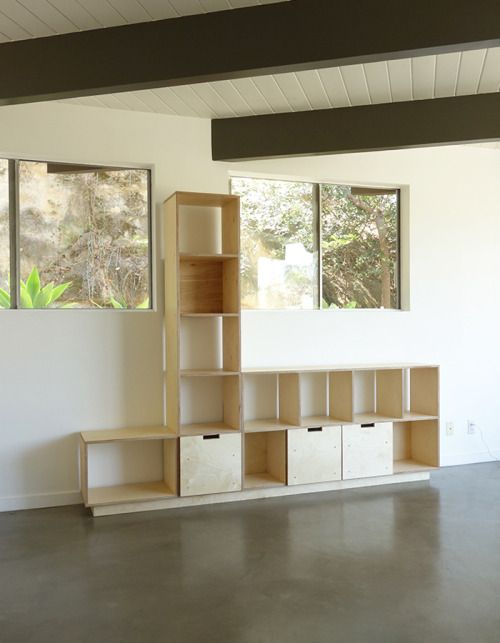 Record Shelving Unit product image 2