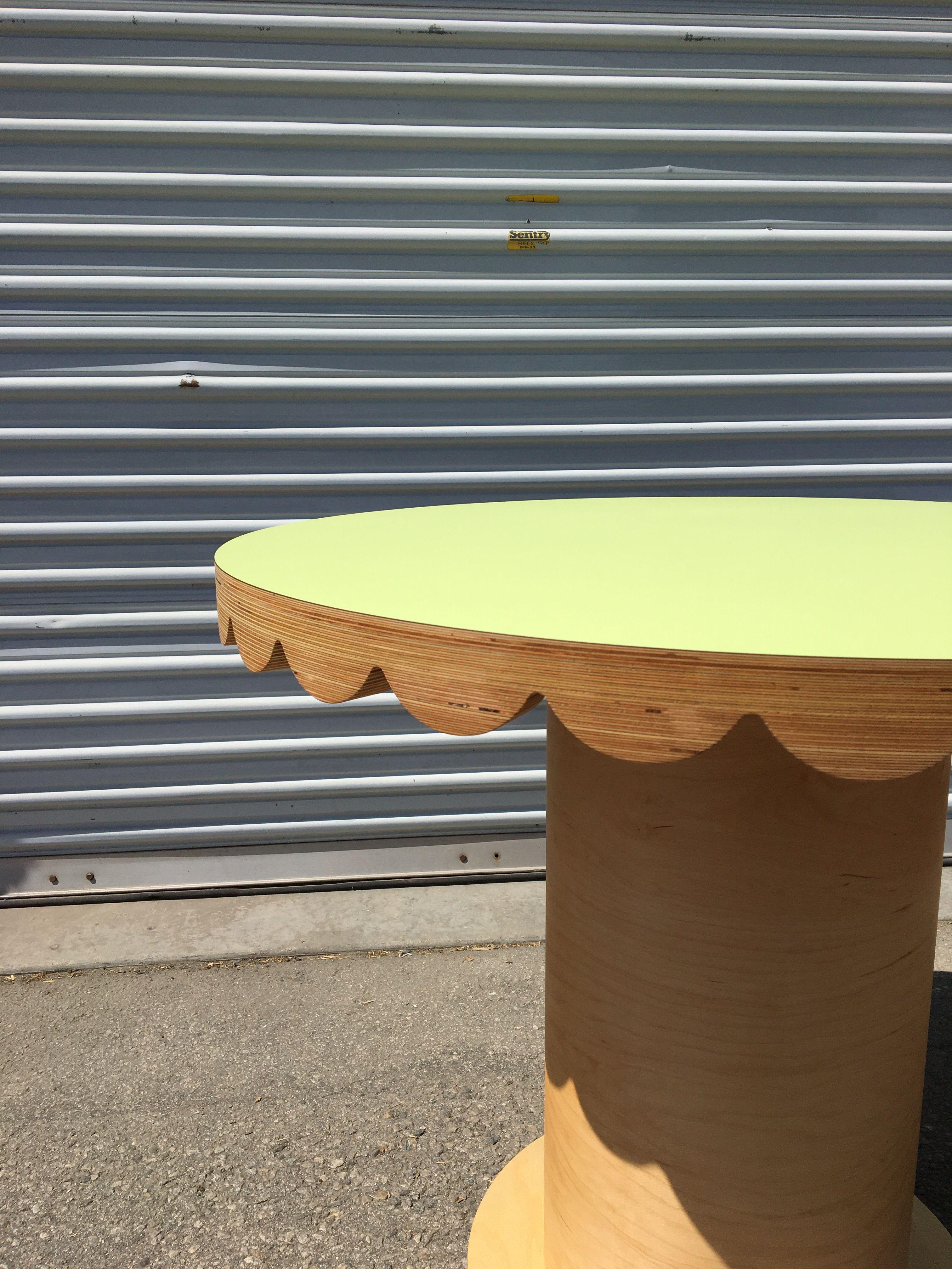Scallop Skirt Table II product image 3
