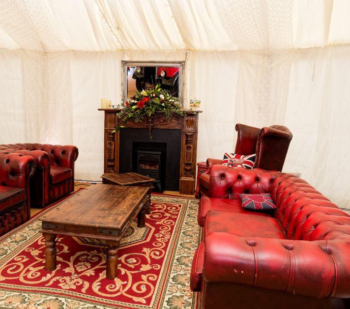 Vintage Lounge During Client Launch