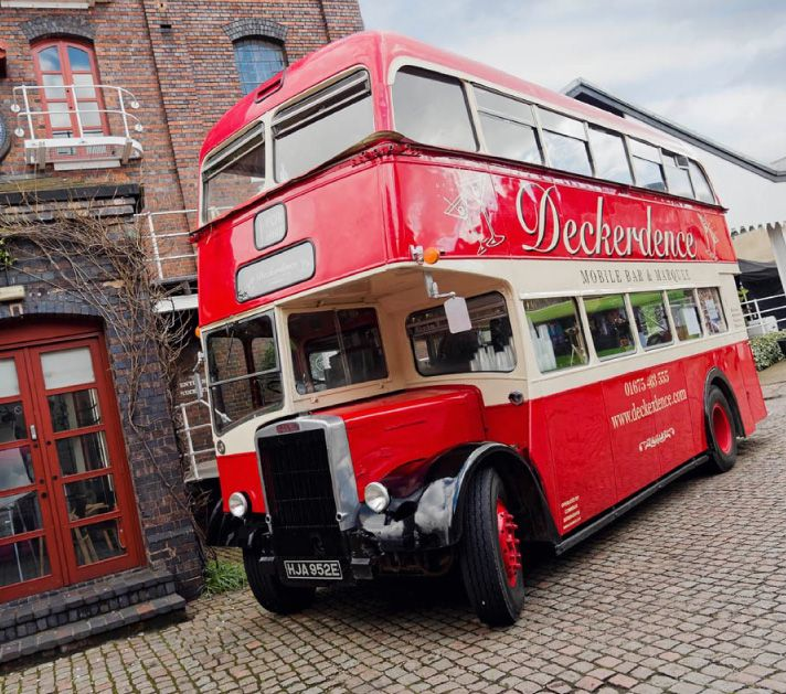 Vintage Bus Bar