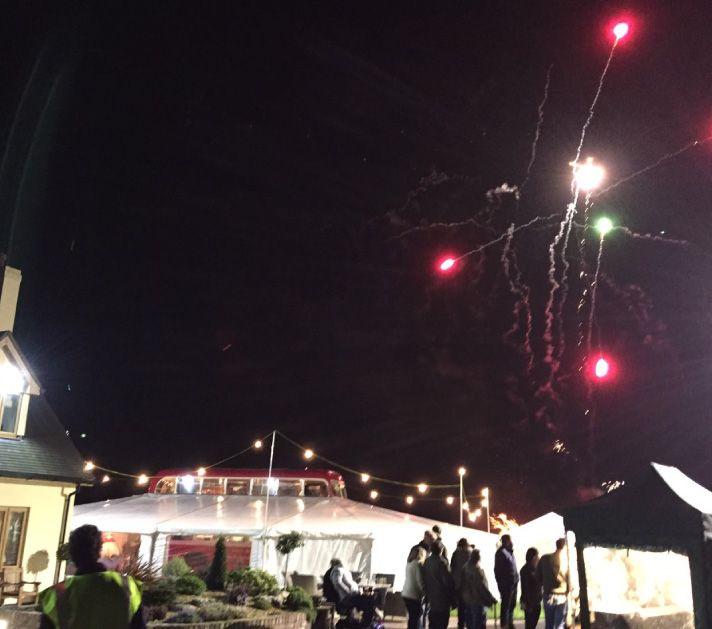 Fireworks over Deckerdence