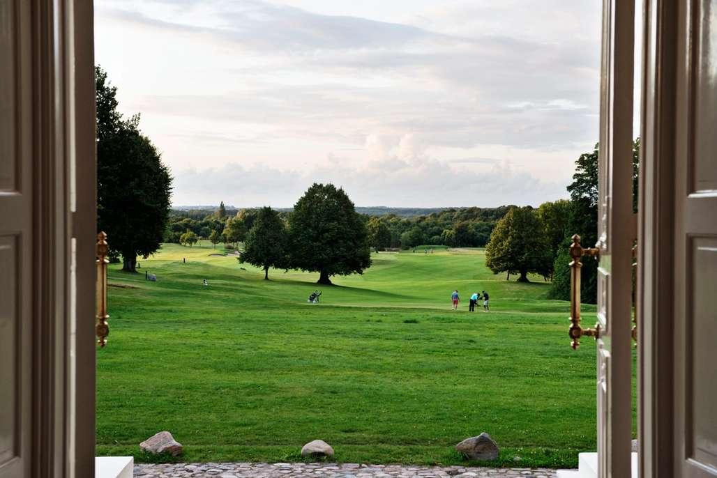Nydelige omgivelser for golf