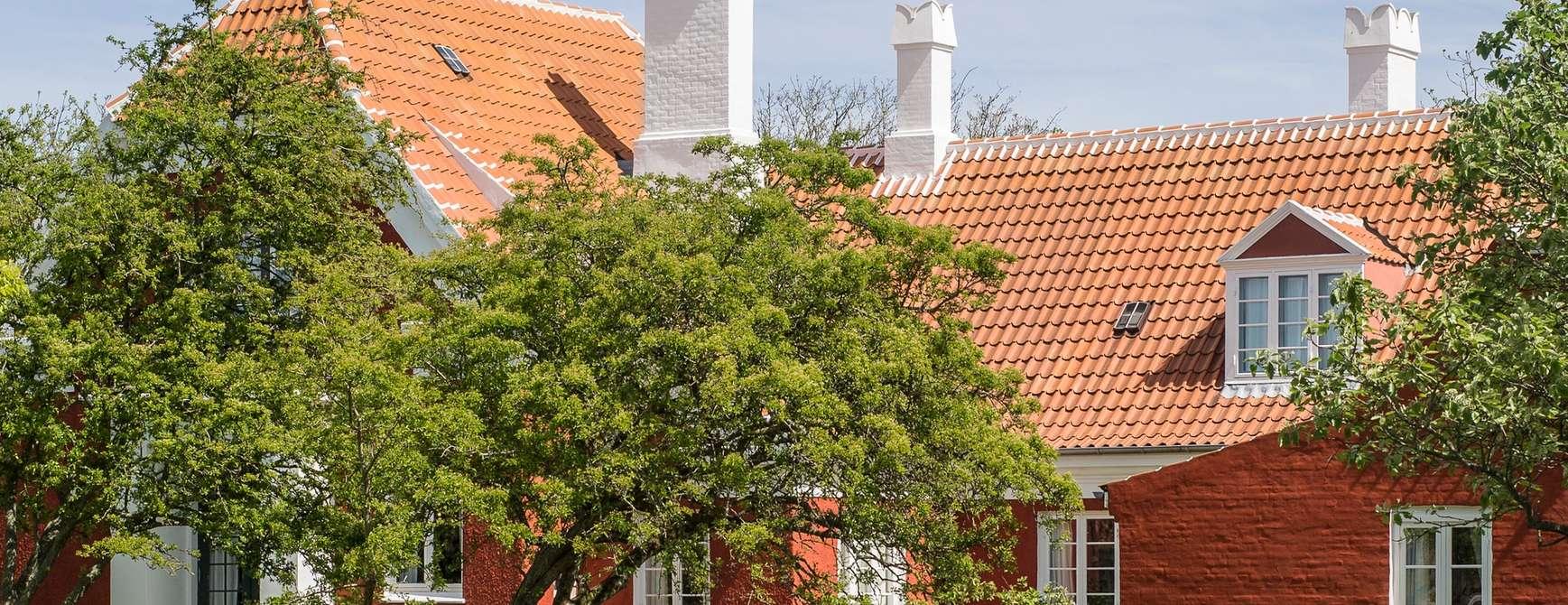 Anchers Hus - Ulrik Plesners tilbygning set fra haven. Photo: Skagens Kunstmuseer | Art Museums of Skagen