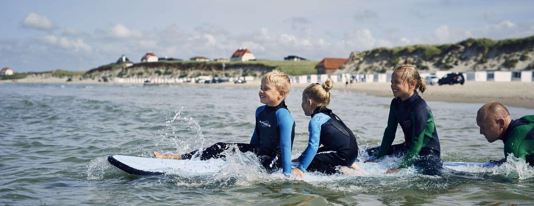 Moro for liten. Moro for stor. Vann er sentralt i Løkken. Foto: Visit Denmark/© Niclas Jessen
