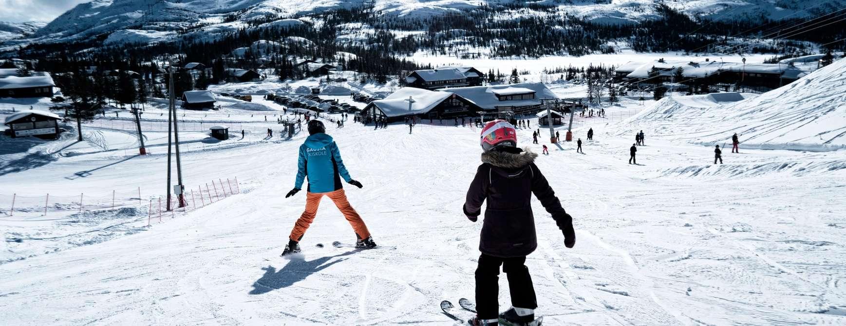 Foto: Gausta Skicenter Skiskole