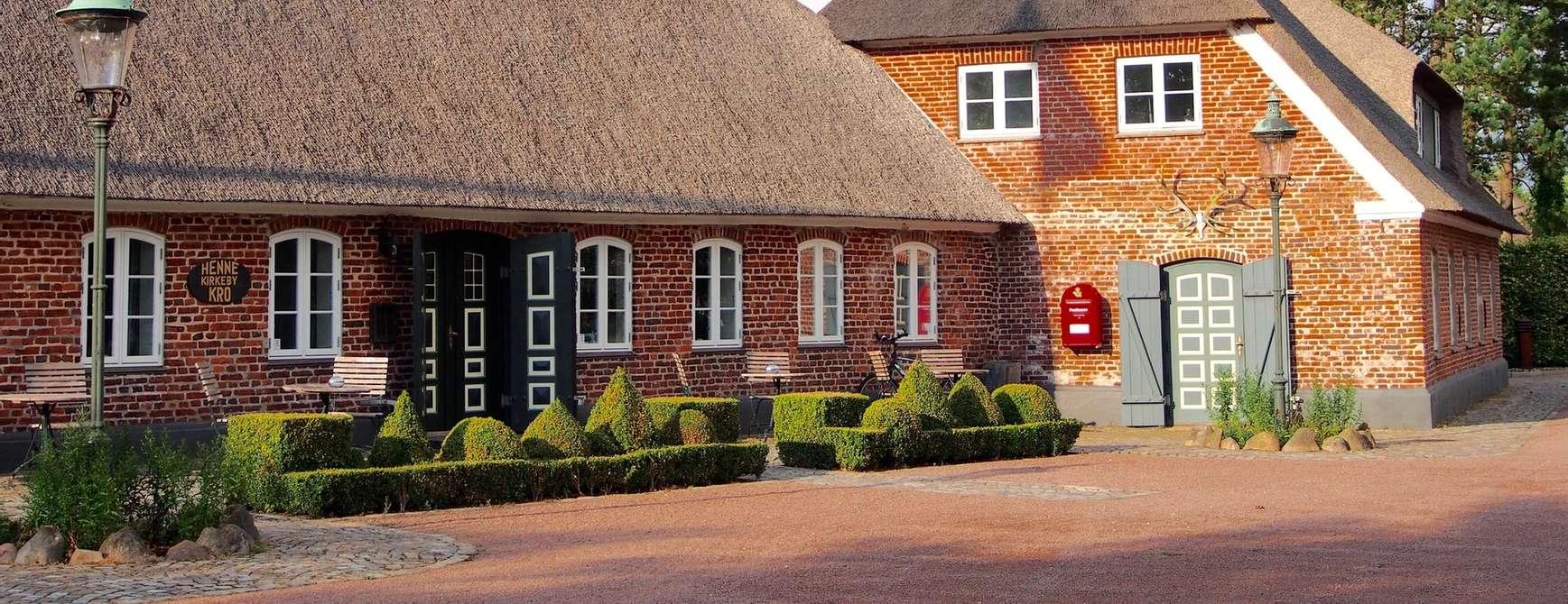 Landlig gourmet: Henne Kirkeby Kro. Foto: Wikipedia