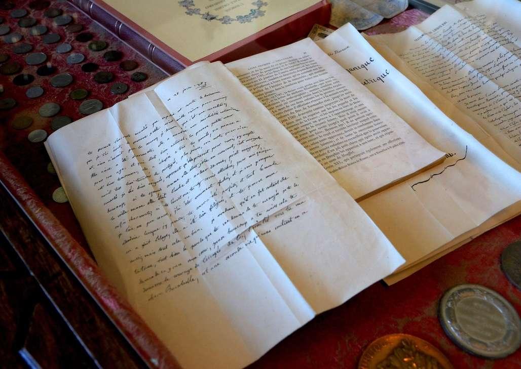 Klenodium: Marie-Antoinettes avskjedsbrev, skrevet to dager før hun ble henrettet. Europeisk historie på sitt ypperste ligger til skue 40 kilometer nord for Aalborg. Foto: Flemming H. Tveitan/Fjord Line