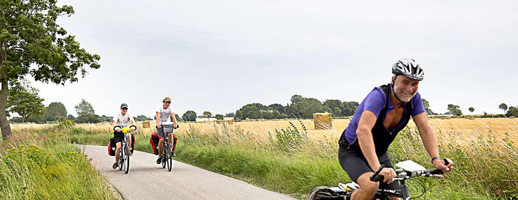 På sykkeltur i Danmark. Foto: Visit Denmark