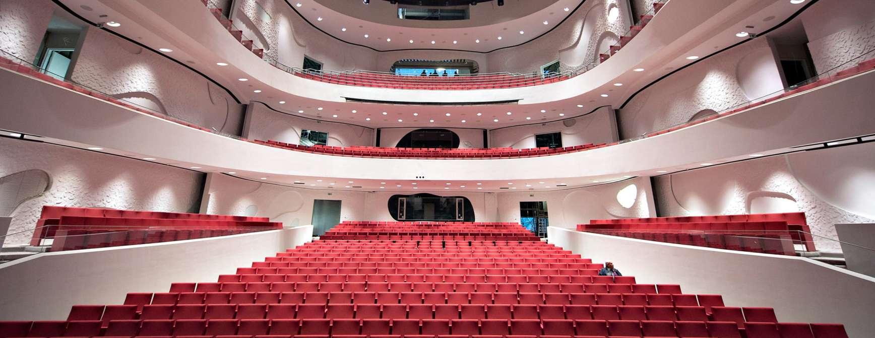 Storsalen i Musikkens Hus i Aalborg