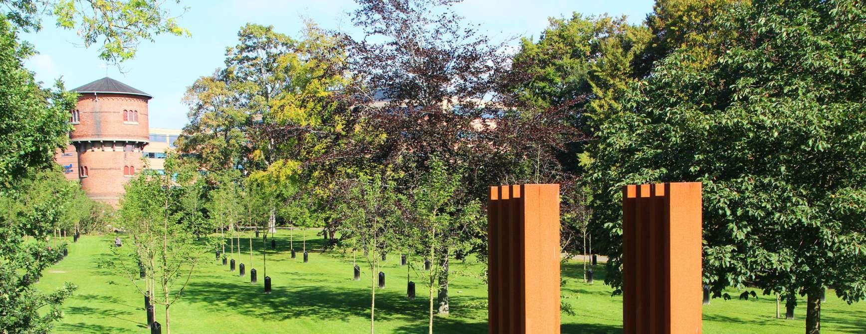 De syngende trær. Foto: Visit Aalborg