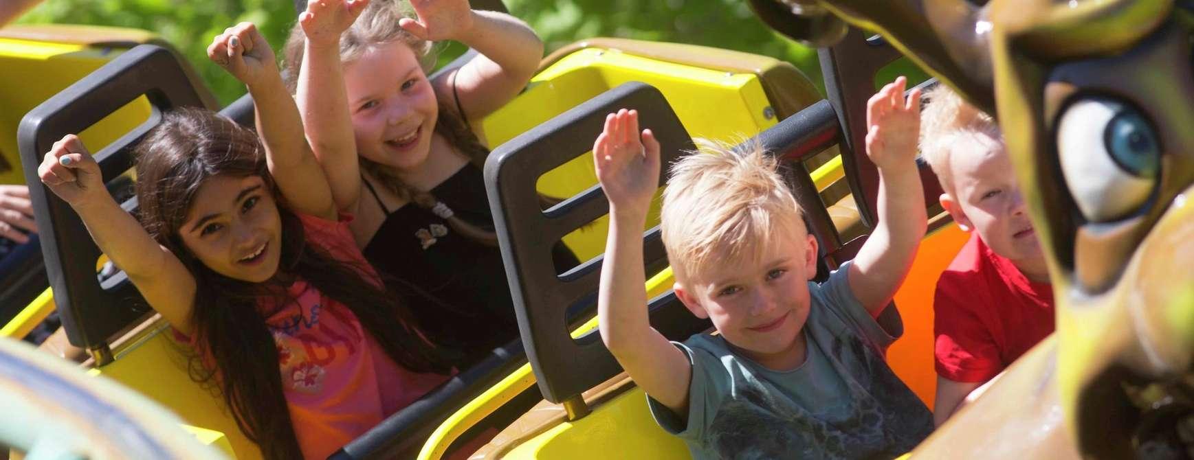 Barn tar karusell i BonBon-Land