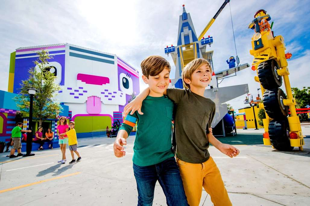 Minner skapes i Legoland