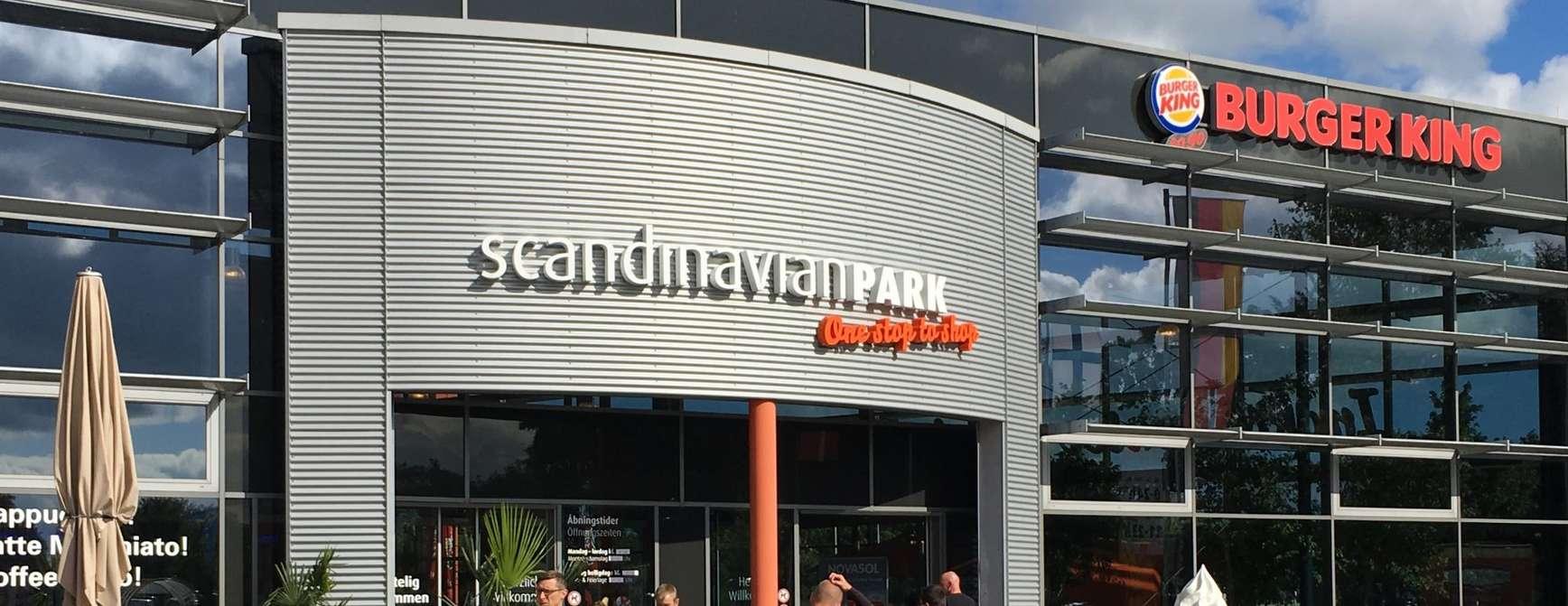 Shoppingsenteret Scandinavian Park i Tyskland