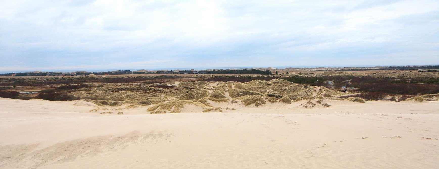 Sand i lange baner. Et fascinerende skue. Foto: Fjord Line