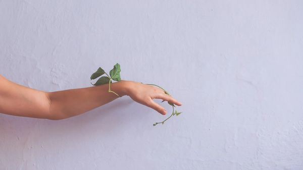 Arm at one with nature