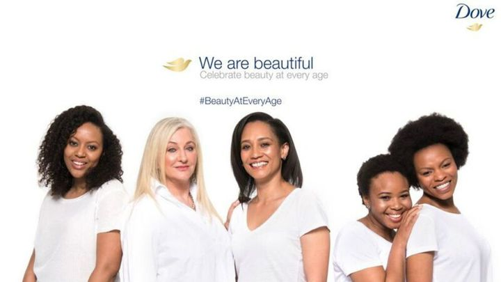 Dove we are beautiful influencers poster
