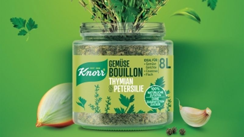 Knorr Bouillon made with 100% natural ingredients and no sugar