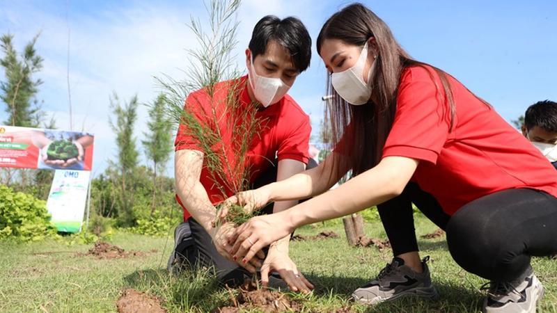 Unilever cam kết trồng 1 triệu cây xanh trước năm 2025