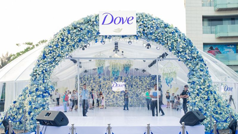 Dove Flower Dome Home page