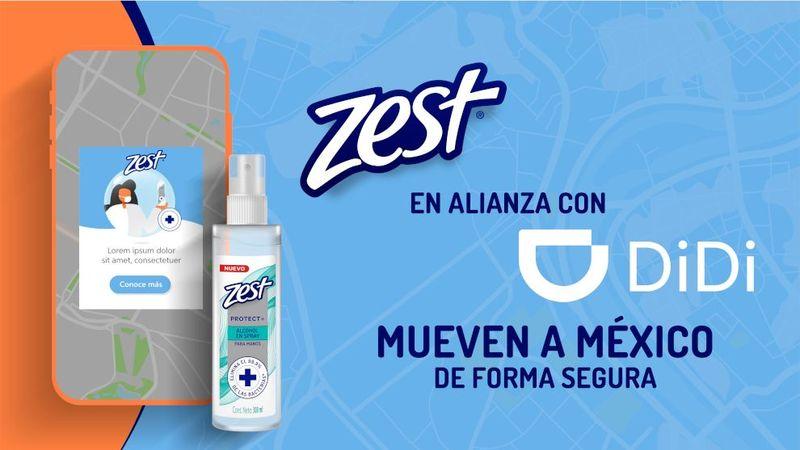 Zest en alianza con DiDi mueven a México de forma segura