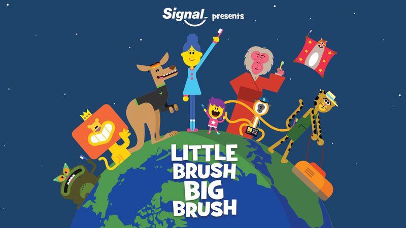 "Signal ""Little brush, big brush"""
