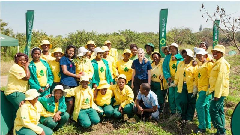 A photograph of the passionate NRM (Natural Resource Management) team.