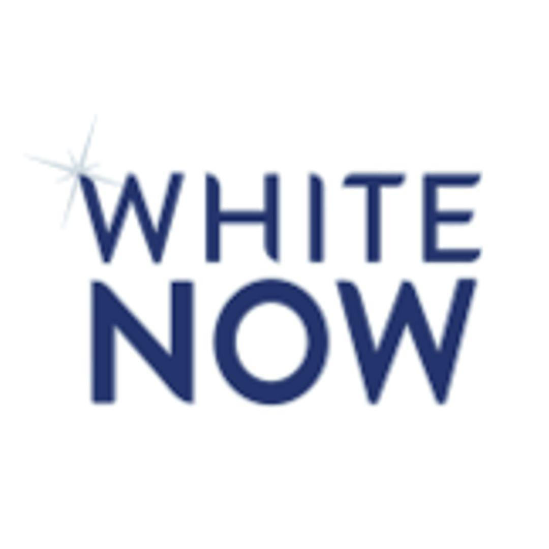 White Now logo