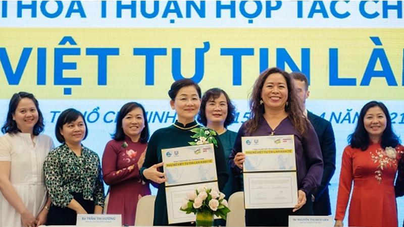phụ nữ Việt tự tin làm kinh tế đến