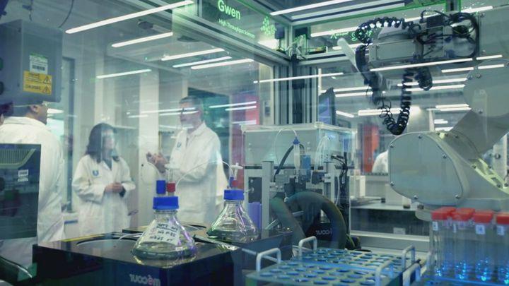 Unilever's laboratory