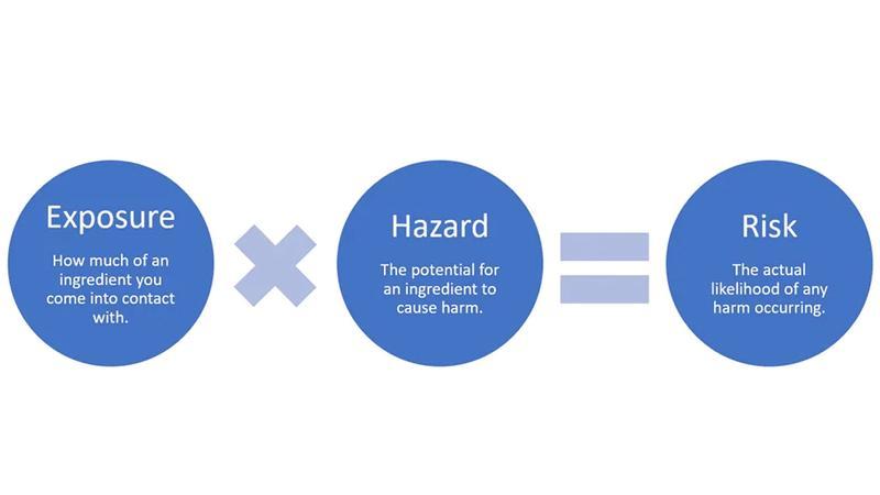 Exposure Hazard Risk infographic