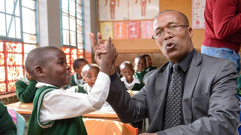 South Africa Handshake