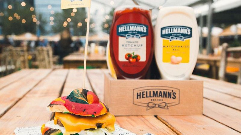 Hellman's ketçap ve mayonez