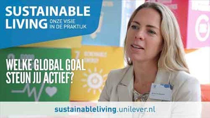 Global Goals film met collega's en stakeholders