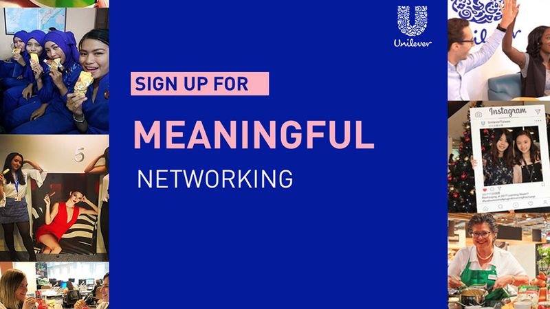 Sign up - Meaningful networking