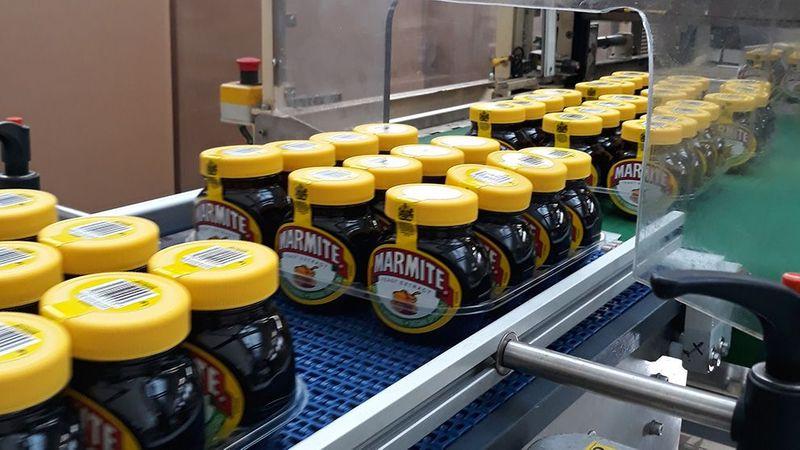 Marmite production