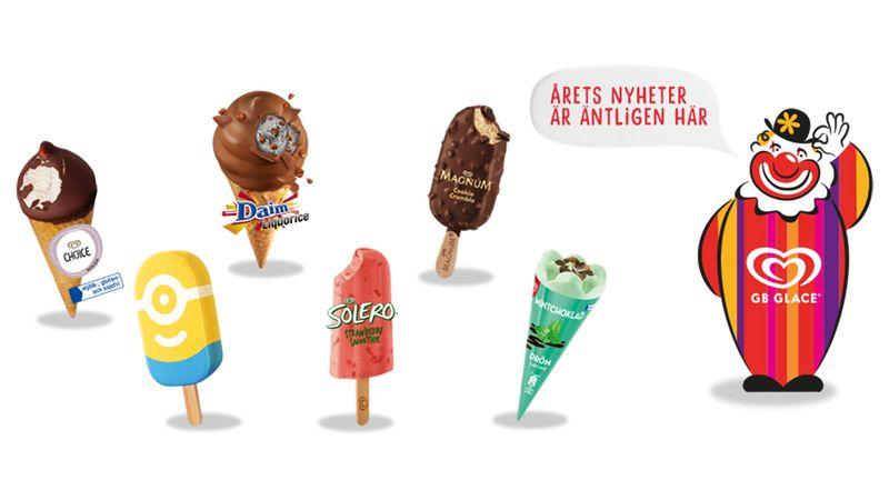 75 år av glass och glädje, nu är vårens nyheter äntligen här!