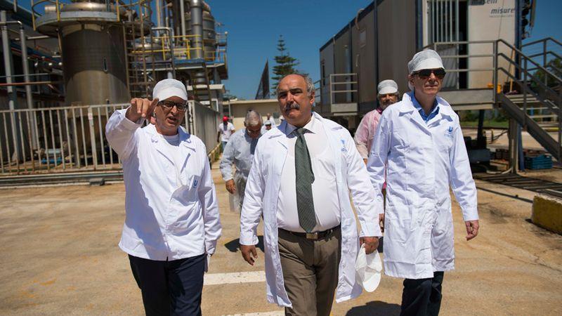 Επίσκεψη του αναπληρωτή Υπουργού Αγροτικής Ανάπτυξης και Τροφίμων κ. Μάρκου Μπόλαρη στο εργοστάσιο Pummaro