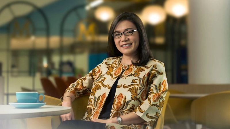 A photo of Ampy Aswin, Vice President of Supply Chain for Skin Cleansing and Skin Care at Unilever