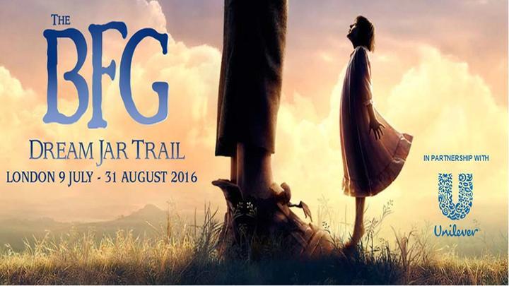 The BFG Dream Jar Trail