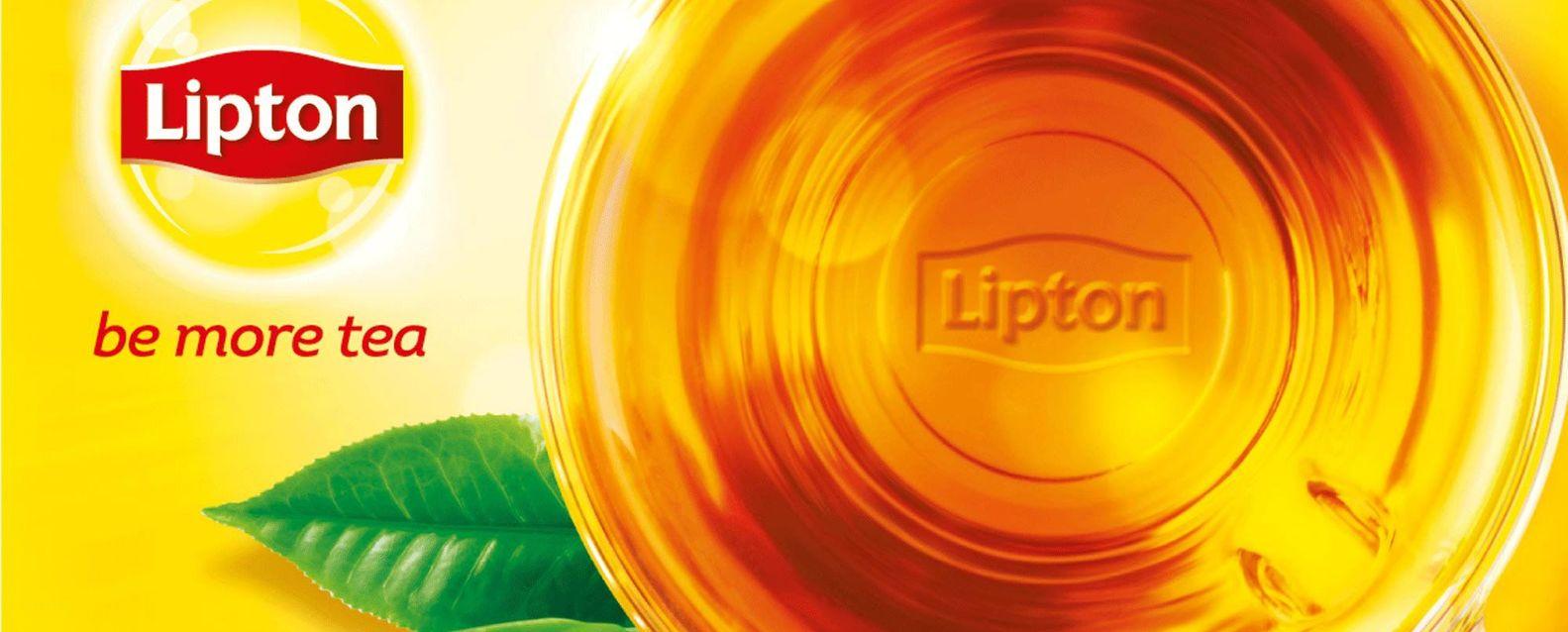 Cup of Lipton tea