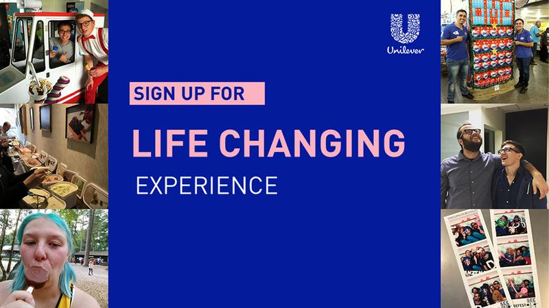Sign up - Life changing experience