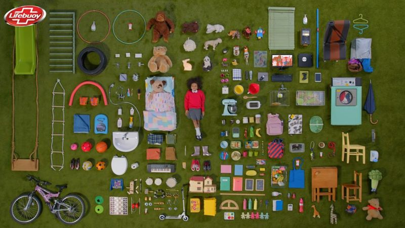 Image showing the 186 items a child touches on average everyday