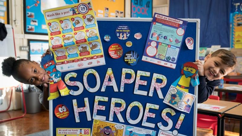 Lifebuoy's new Soaper Heroes programme helps children across the UK learn the importance of handwashing