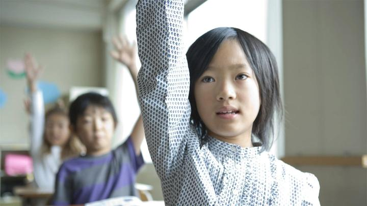 Hands up who thinks all schools should have clean toilets?