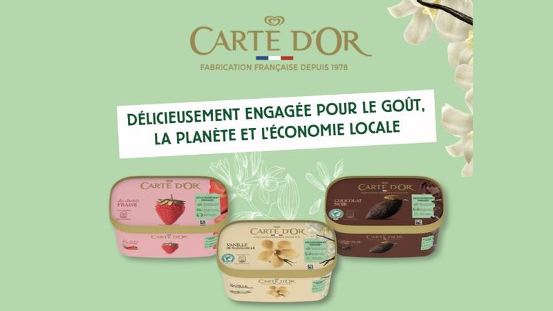 carte dor image with text